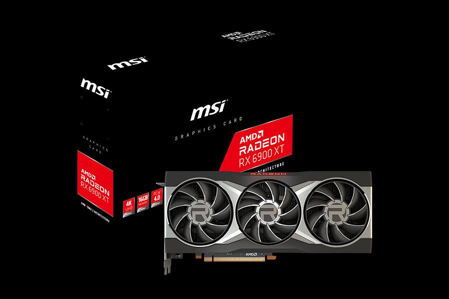 MSI представляет видеокарты Radeon RX 6900 XT