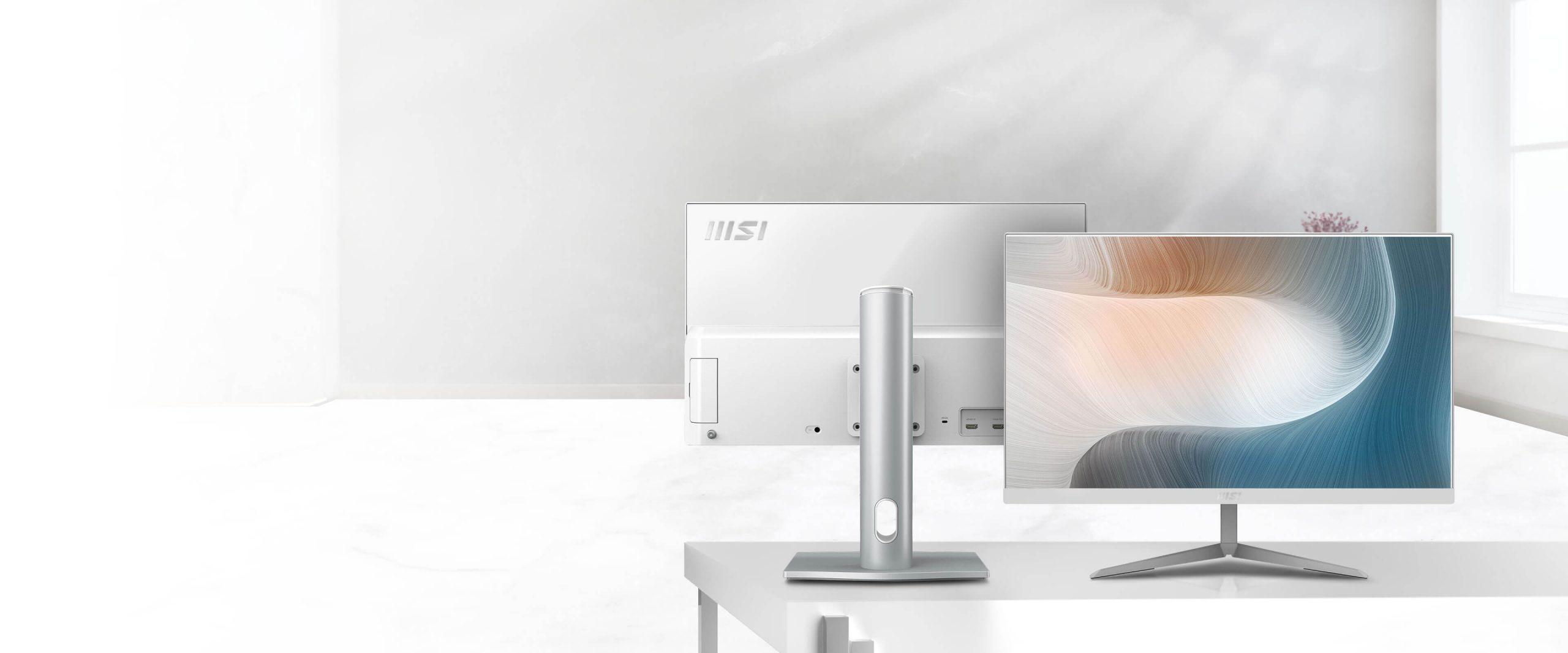 Современные моноблоки серий AM241 и AM271 от MSI готовы украсить ваш дом и офис