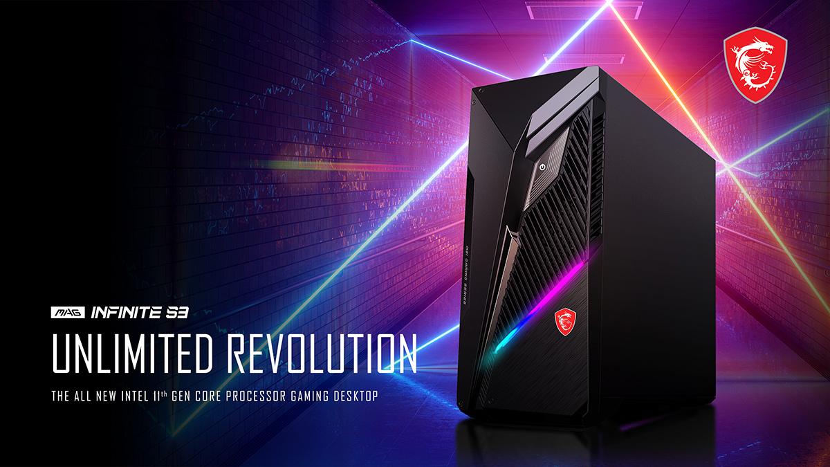 Новый компьютер MSI Gaming MAG Infinite S3 с уникальным дизайном