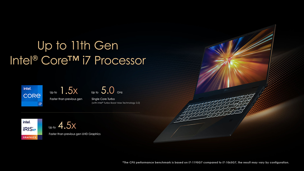 MSI Summit E16 Flip - бизнес-ноутбук