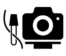 Пользовательский интерфейс - подставка для камеры и банджи для мыши