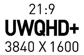 UWQHD + (3840x1600) Высокое разрешение